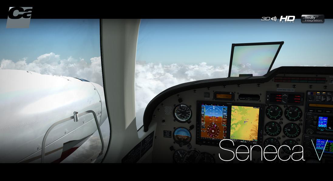 Carenado - PA34 Seneca V - HD Series (FSX/P3D) | SimWare Shop