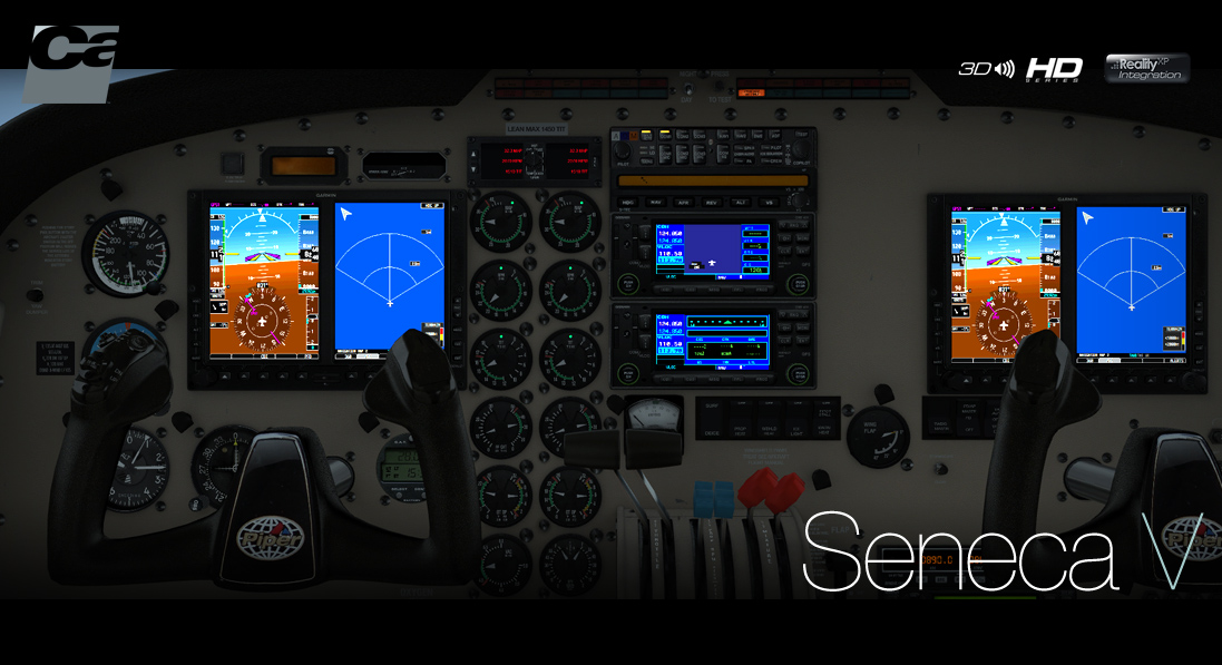 Carenado - PA34 Seneca V - HD Series (FSX/P3D)