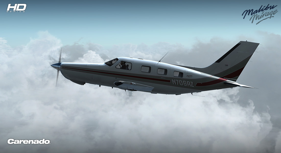 Carenado - PA46 Malibu Mirage 350P - HD Series (FSX/P3D)