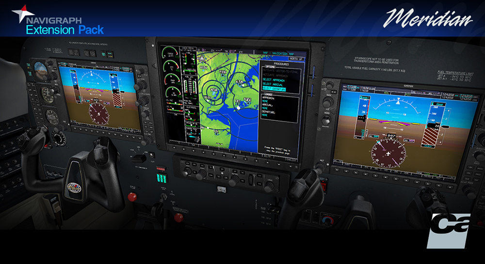 Carenado - Navigraph PA46 Meridian Extension Pack (FSX/P3D)