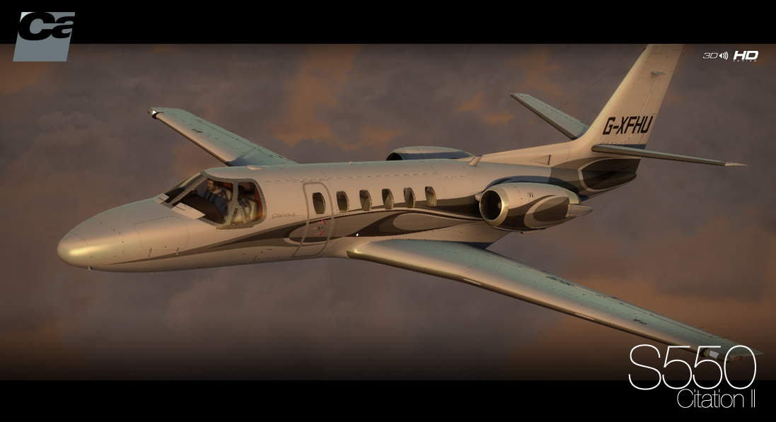 Carenado - S550 Citation II - HD Series