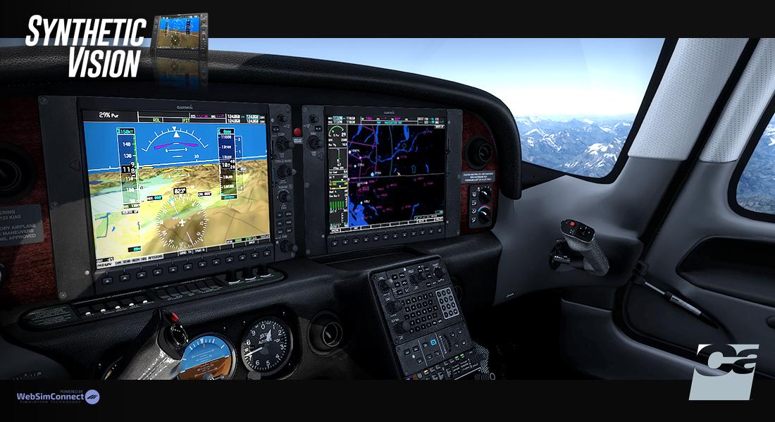 Carenado - Synthetic Vision System (FSX/P3D) | Aerosoft US Shop