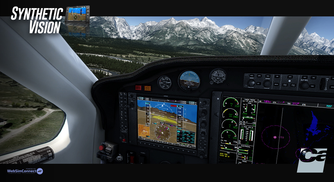 Carenado - Synthetic Vision System (FSX/P3D)