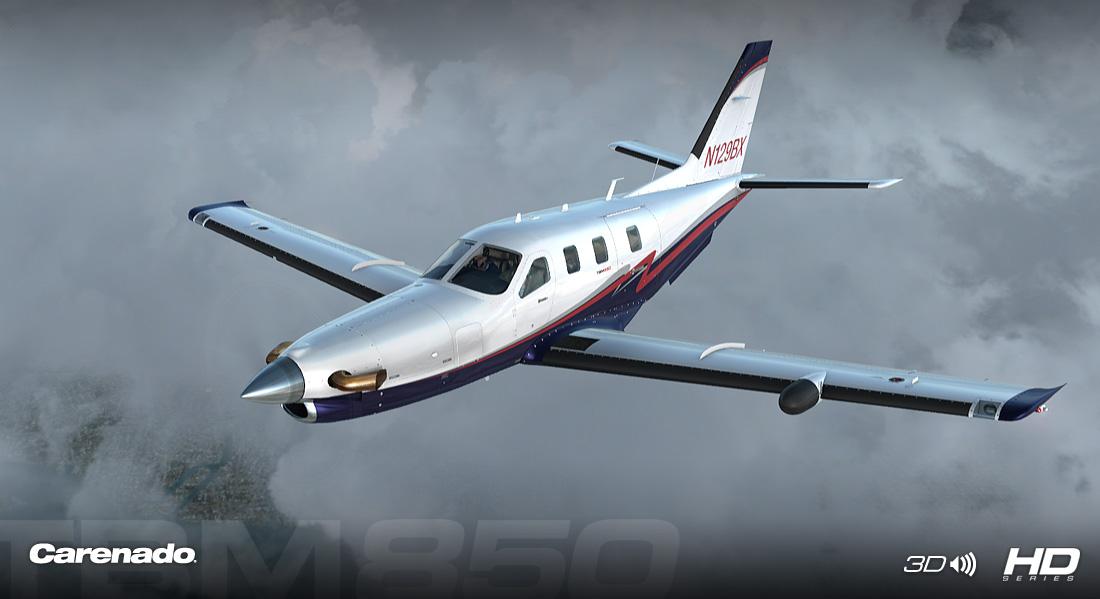Carenado - TBM850 - HD Series (FSX/P3D) | Aerosoft Shop