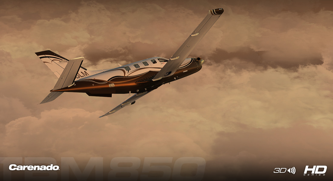 Carenado - TBM850 - HD Series (FSX/P3D)