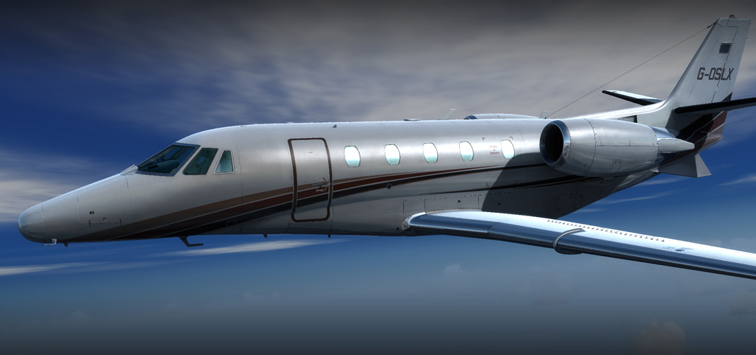 Carenado - XL560 Citation (P3D/FSX)