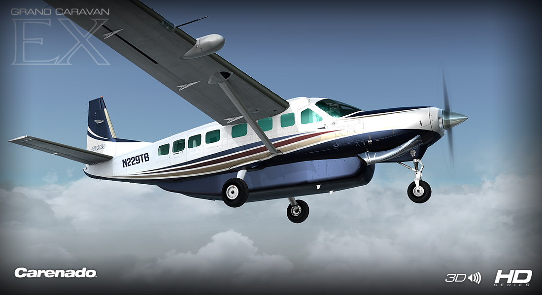 Carenado - C208B Grand Caravan Ex - HD Series