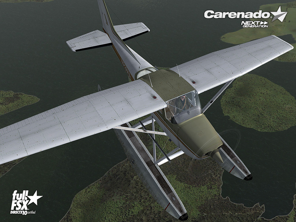 Carenado - C172N Skyhawk II Float (FSX/P3D)