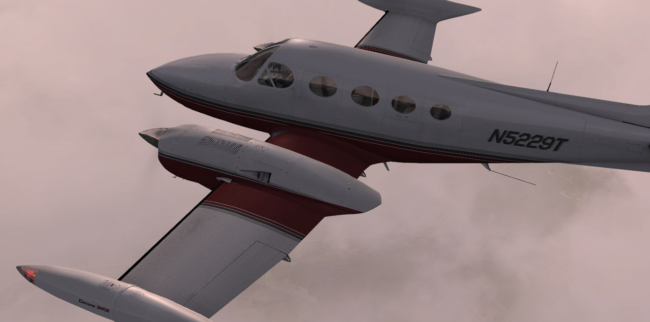 Carenado - C340 II - HD Series (FSX/P3D)