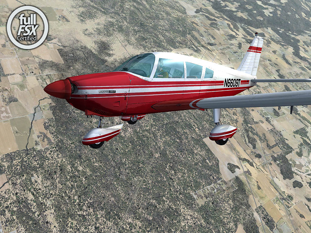 Carenado - Piper Cherokee 180F X (FSX)