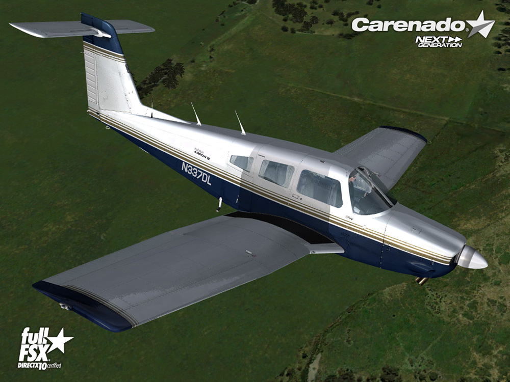 Carenado - PA28RT 201 Arrow IV (FSX)