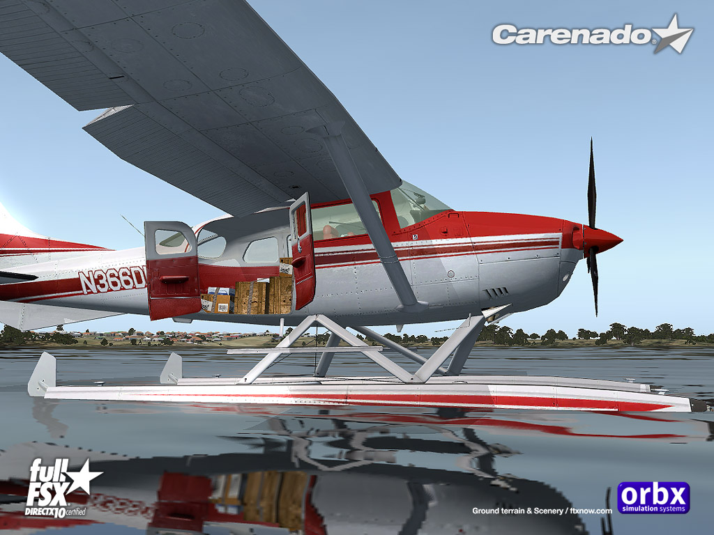 Carenado - U206G Stationair (FSX)