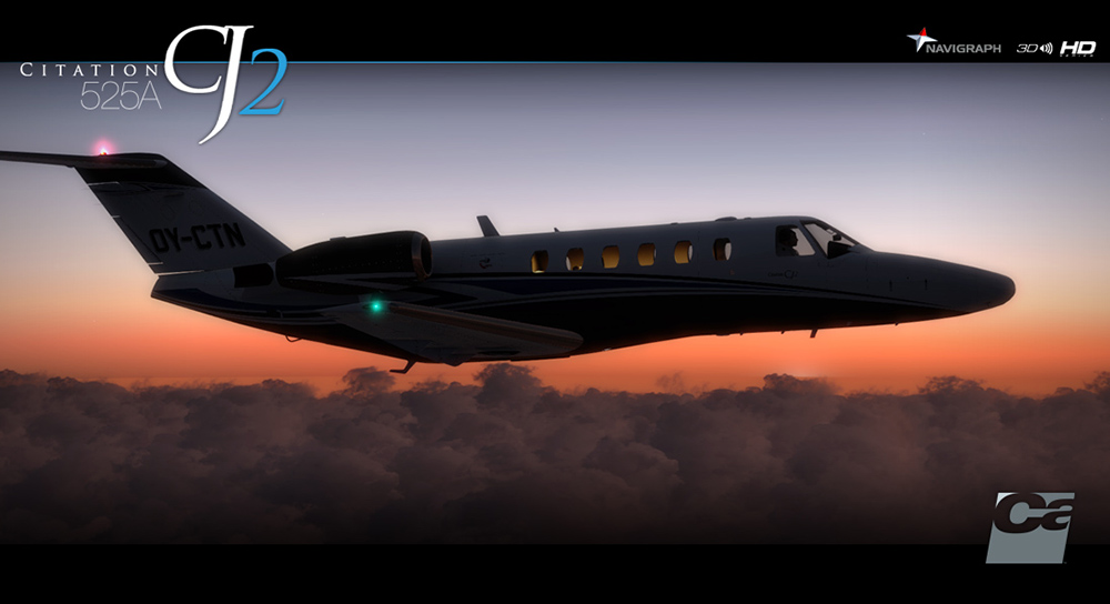 Carenado - 525A Citation CJ2 - HD Series