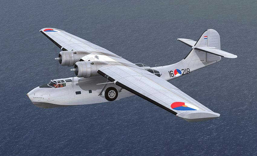 PBY Catalina - The flying cat