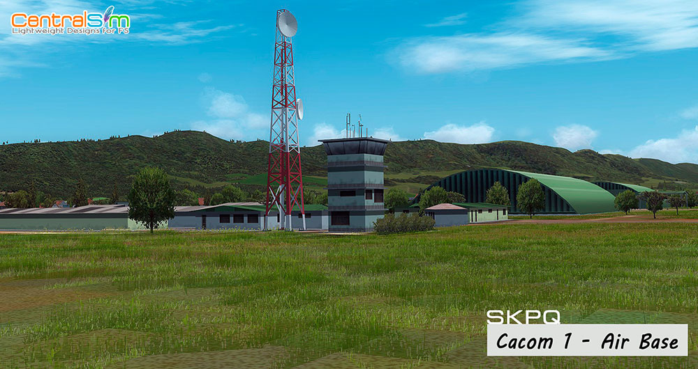SKPQ - CACOM1 Air Base – Captain German Olano Air Base FSX