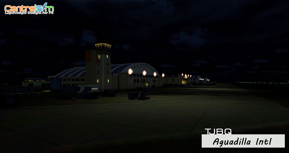 TJBQ - Rafael Hernandez International Airport - Aguadilla FSX
