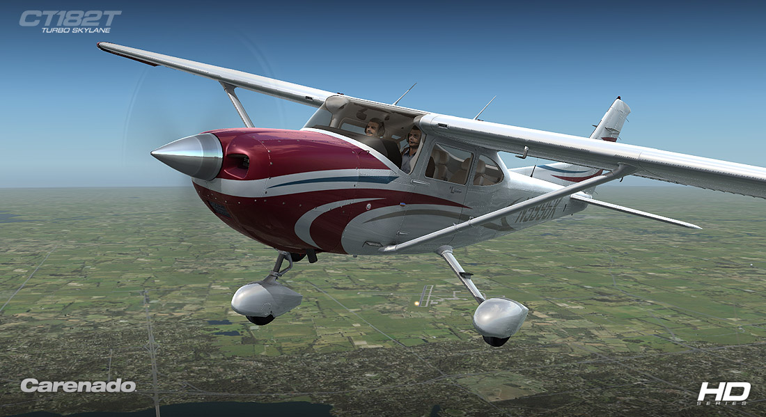 Carenado - CT182T Skylane G1000 - HD Series (FSX/P3D)