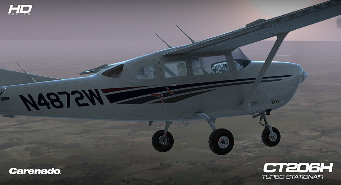 Carenado - CT206H Stationair - HD Series (FSX/P3D)