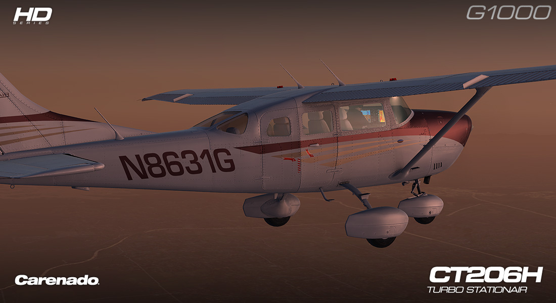 Carenado - CT206H Stationair G1000 - Extension Pack (FSX/P3D)