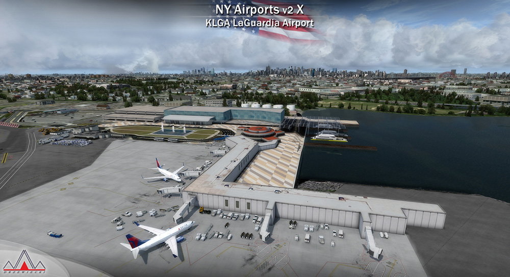 New York Airports V2 X (KJFK, KLGA, KTEB)