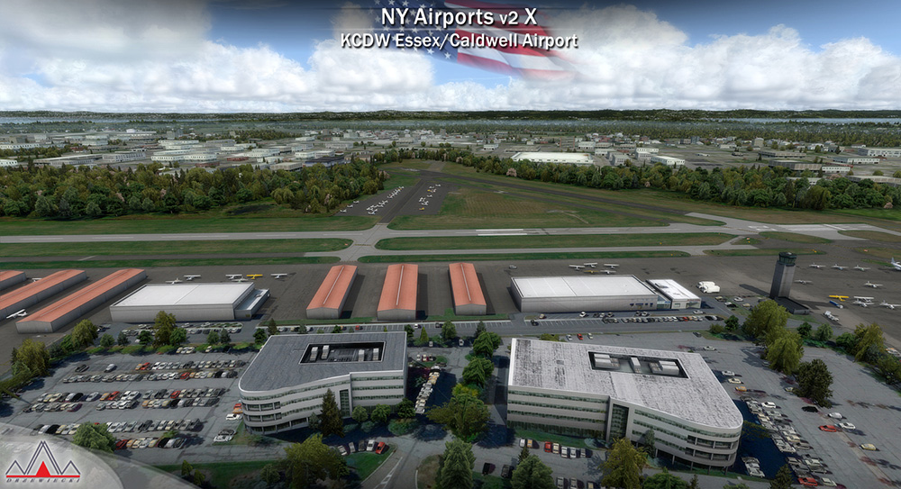 New York Airports V2 X (KEWR, KLDJ, KCDW)