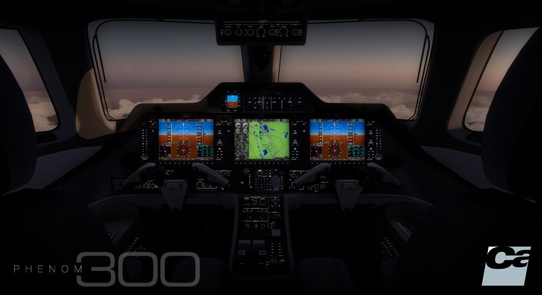 Carenado - EMB505 Phenom 300 - HD Series