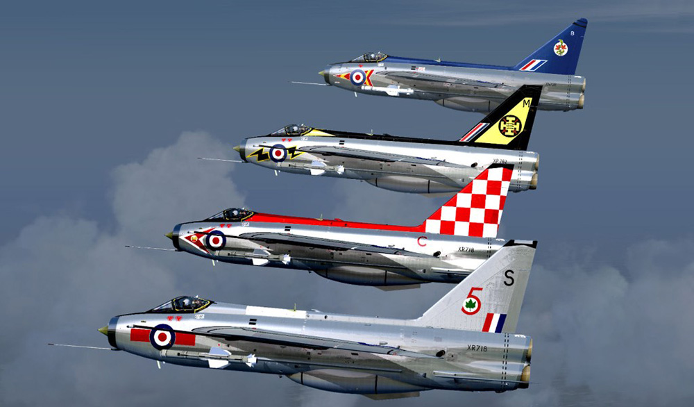 English Electric Lightning F3 X