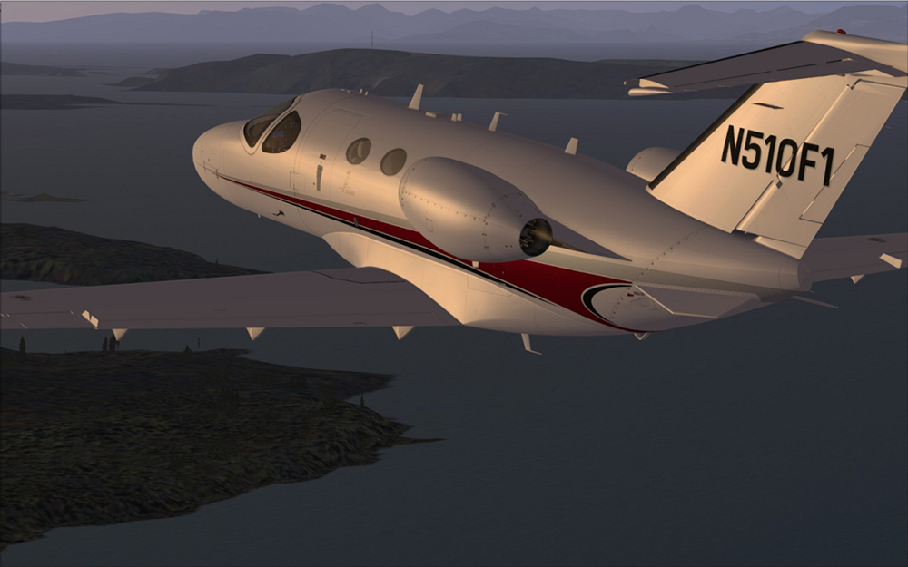 Cessna Citation Mustang for FSX