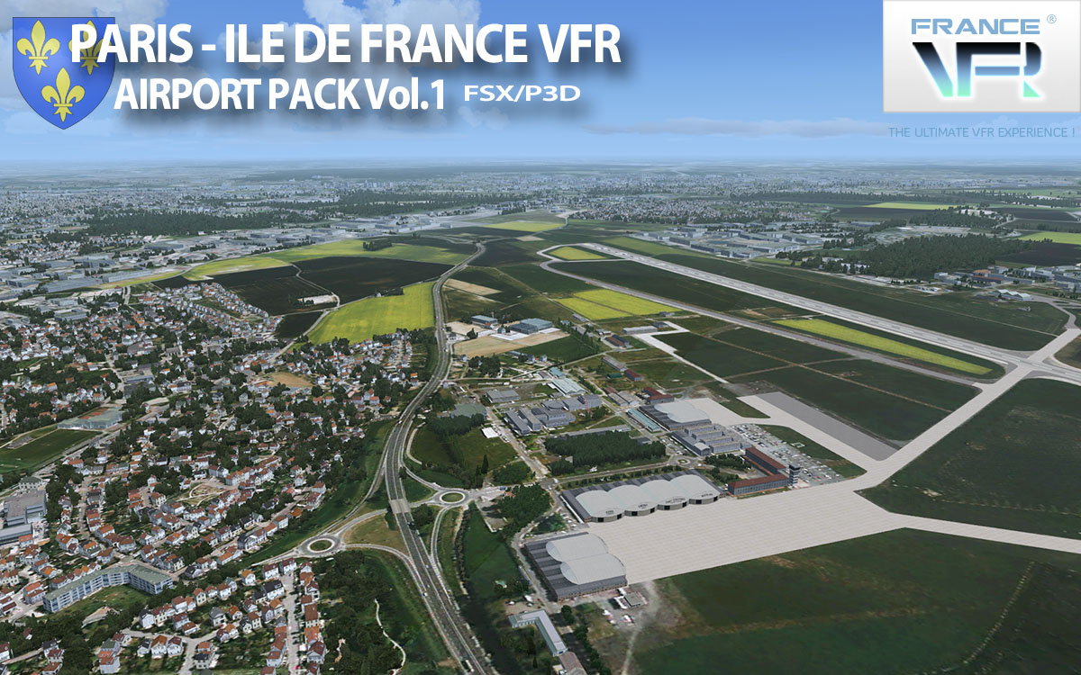 Paris-Ile de France VFR - Airport Pack Vol. 1