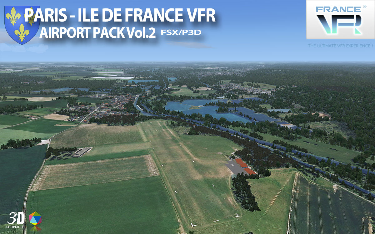 Paris-Ile de France VFR - Airport Pack Vol. 2