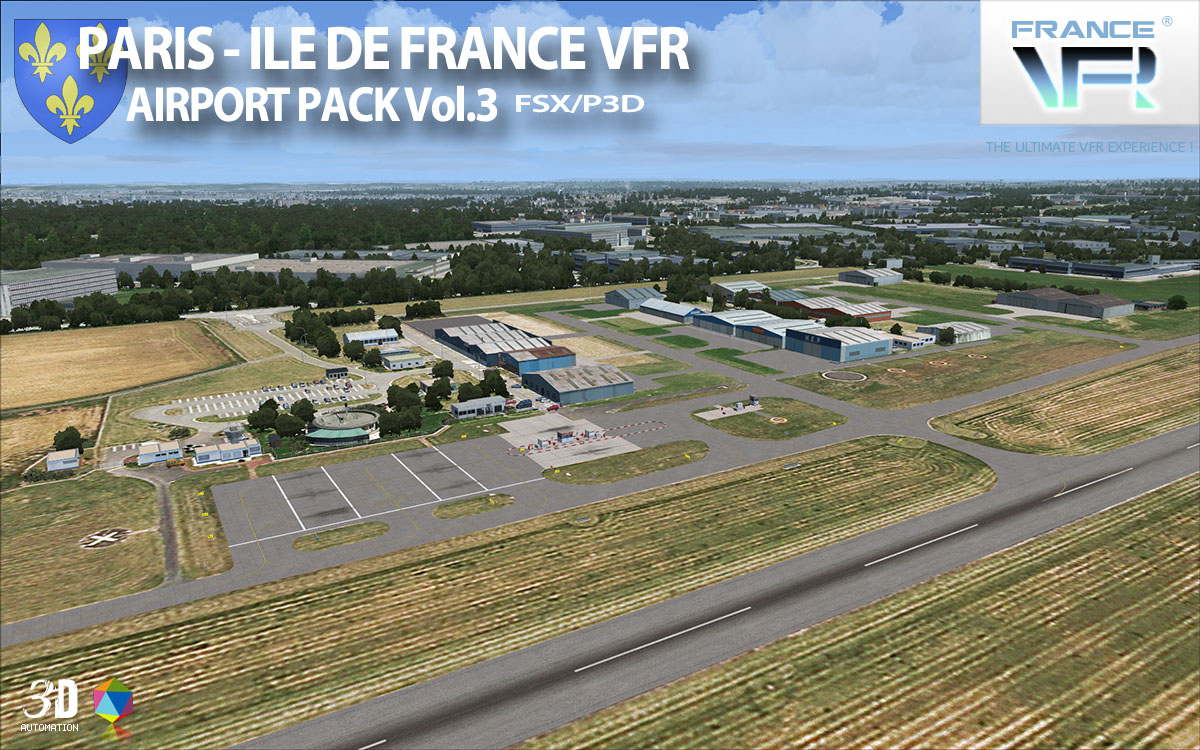 Paris-Ile de France VFR - Airport Pack Vol. 3