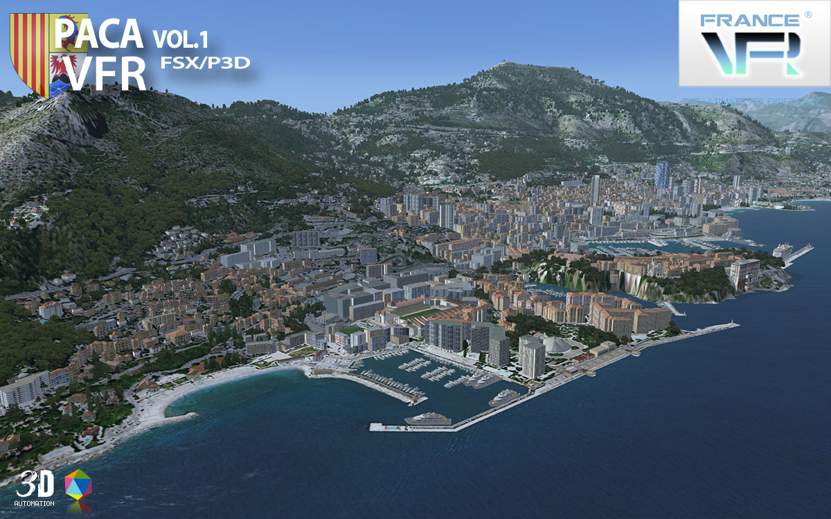 VFR Regional - French Riviera Vol.1