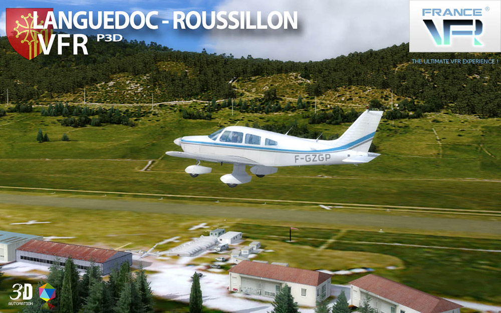 Languedoc-Roussillon VFR for P3D V4