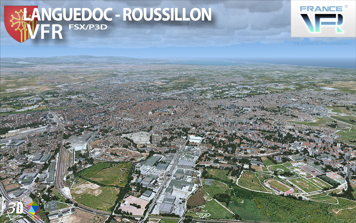 Languedoc-Roussillon VFR for FSX