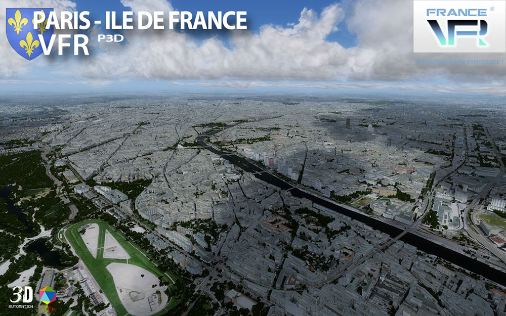 VFR Regional - Paris-Ile de France VFR P3D V4 | Aerosoft Shop