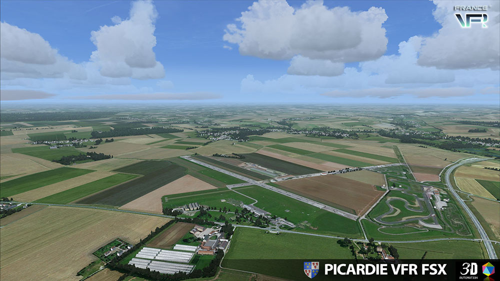 Picardie VFR for FSX