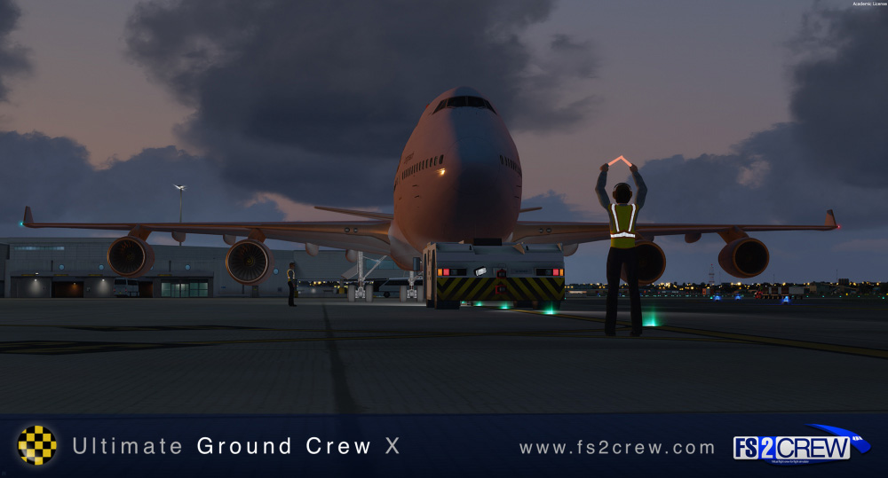 FS2Crew: Ultimate Ground Crew X