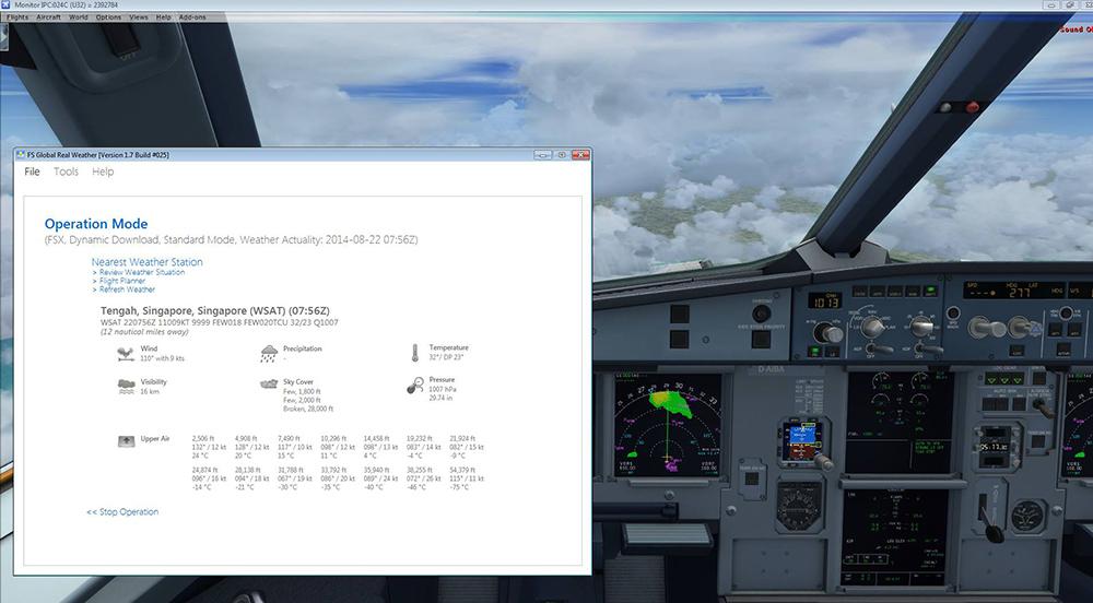 FS Global Real Weather FSFSXFSXSEPDvXP Aerosoft US Shop - Global weather radar