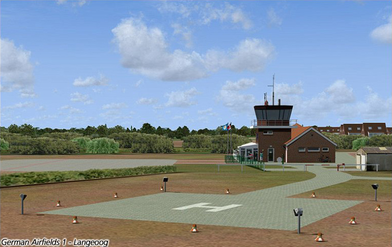 German Airfields 1 - Island Hopping