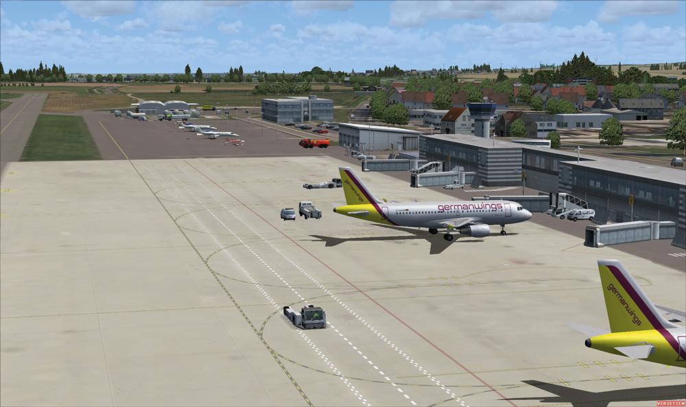 seaport airport traffic simulator - 1000×593