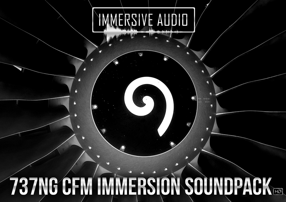 Immersive Audio - 737NG CFM Immersion Soundpack HD