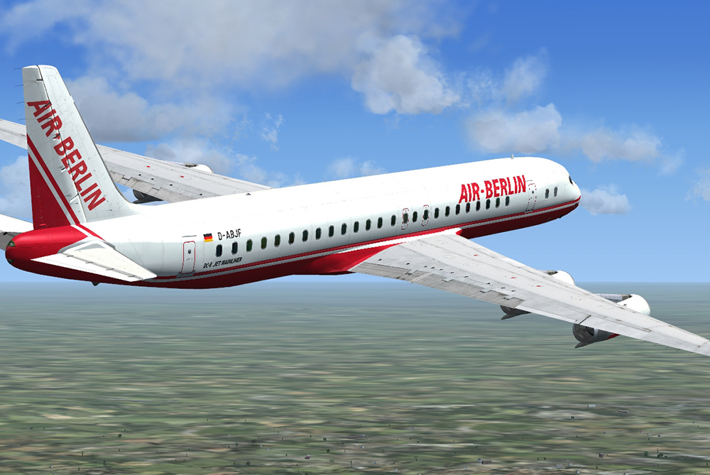 DC-8 Jetliner 50-70 'What if?' Livery Pack | Aerosoft Shop