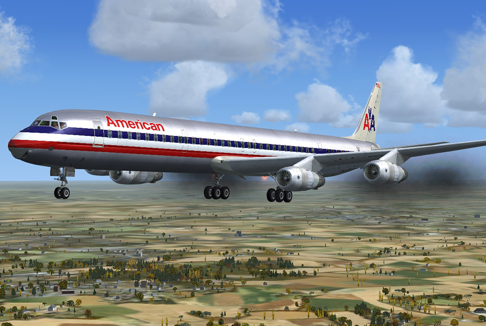 DC-8 Jetliner 50-70 'What if?' Livery Pack | Aerosoft Shop