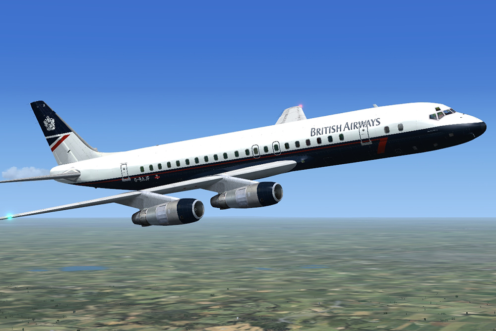 DC-8 Jetliner 50-70 'What if?' Livery Pack