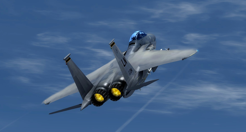 DC Designs F-15 C, E & I Eagle for FSX & P3D V1-V3
