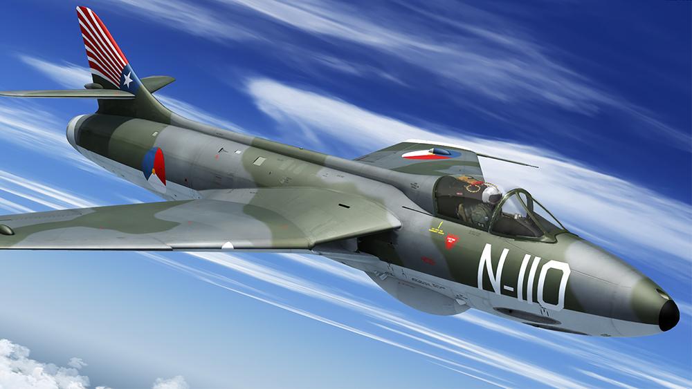Hunter F.6/FGA.9 | Aerosoft Shop