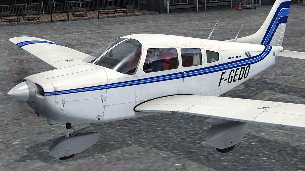 PA-28-161 Warrior II (FSX/FSX:SE) | Aerosoft Shop