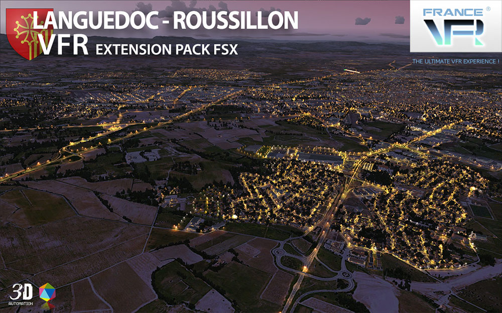 Languedoc-Roussillon VFR - Extension Pack FSX