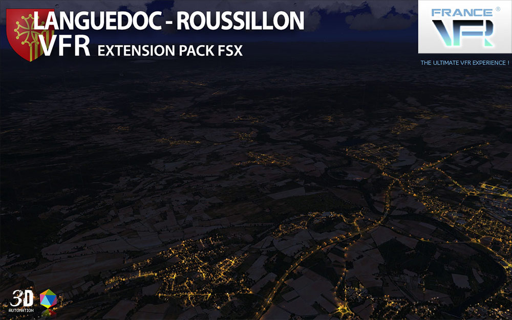 Languedoc-Roussillon VFR - Extension Pack FSX | Aerosoft US Shop