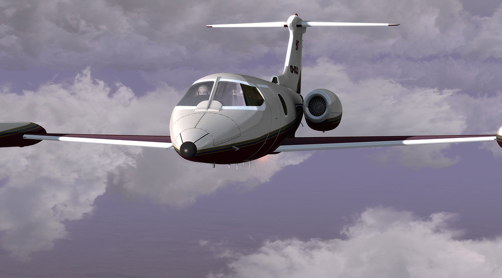 Lionheart Creations - Learjet LJ24B